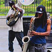 Jackson Square Jazz Art Print