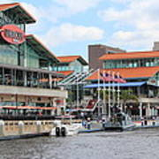 Jacksonville Florida Landing Art Print
