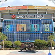 Jacksonville Jaguars Stadium Art Print