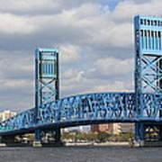 Jacksonville Main Street Bridge Art Print