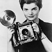 Jacqueline Bouvier As The Inquiring Art Print by Everett