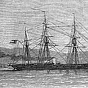 Jamaica: Css Alabama, 1863 Art Print