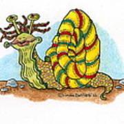 Jamaican Snail Art Print