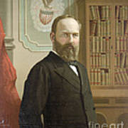 James A. Garfield, 20th American Art Print by Photo Researchers