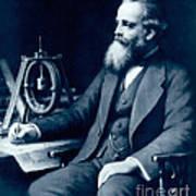 James Clerk Maxwell, Scottish Physicist Art Print