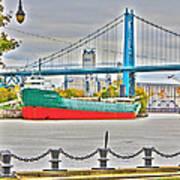 James M Schoonmaker And The Hi-level Bridge Art Print