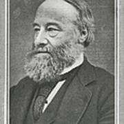 James Prescott Joule, British Physicist Art Print