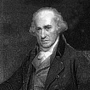 James Watt, Scottish Engineer Art Print