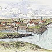 Jamestown Settlement, 1622 Art Print