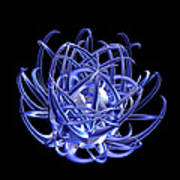 Jammer Blue Star 001 Art Print