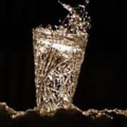 Jammer Crystal Ice Torch  Art Print