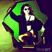 Jane Joker 2 Art Print