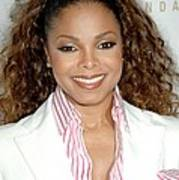 Janet Jackson At Arrivals For 19th Art Print