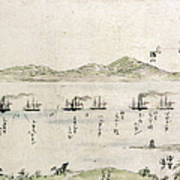 Japan: Matthew Perry, 1854 Art Print