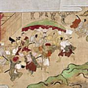 Japan: Peasants, C1575 Art Print