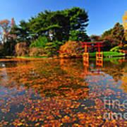 Japanese Garden Brooklyn Botanic Garden Art Print