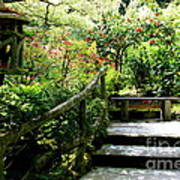 Japanese Garden Retreat Art Print