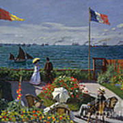 Jardin A Sainte Adresse Art Print
