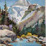 Jasper In Colour Art Print