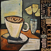 Java Coffee Languages Poster Art Print