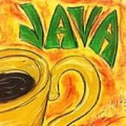 Java Art Print by Lee Halbrook
