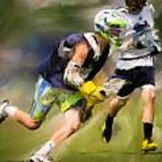 Jaxx Lacrosse 1 Art Print