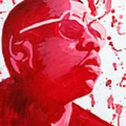 Jay-z Art Print by Michael Ringwalt