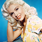 Jayne Mansfield, 1950s Art Print by Everett