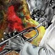 Jazz Fire Art Print
