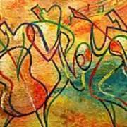 Jazz-funk Art Print