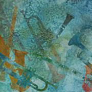 Jazz Improvisation One Art Print