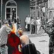 Jazz In New Orleans Art Print