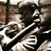 Jazz Legends Al Hirt And Pete Fountain Art Print