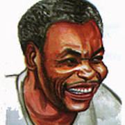 Jean Pierre Dikongue Pipa Art Print