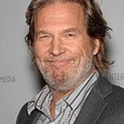 Jeff Bridges In Attendance For American Print by Everett