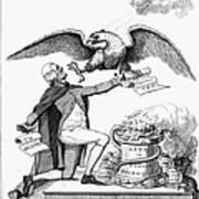 Jefferson: Cartoon, 1800 Art Print by Granger