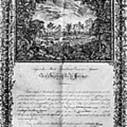 Jefferson: Degree, 1820 Art Print