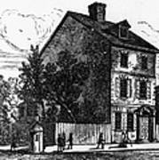 Jeffersons House, 1776 Art Print