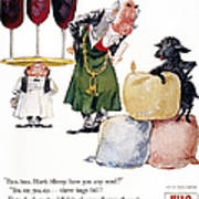 Jell-o Advertisement, 1957 Art Print