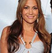 Jennifer Lopez Wearing An Emilio Pucci Art Print by Everett