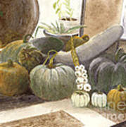 Jennifer's Pumpkins Art Print