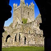 Jerpoint Abbey In Kilkenny Art Print
