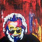 Jerry Garcia Art Print