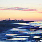 Jersey Shore Sunrise Art Print