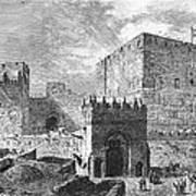 Jerusalem: Citadel Art Print