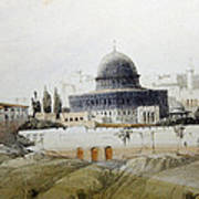 Jerusalem Close Up Art Print