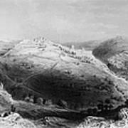 Jerusalem: Mount Zion Art Print