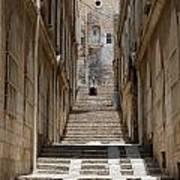 Jerusalem Steps Art Print