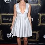 Jessica Lowndes At Arrivals For Jessica Art Print