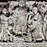 Jesus & Apostles Art Print